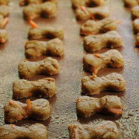 Apple and Carrot Dog Biscuits