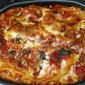 Lasagna with ham