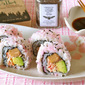 How to Make Pink Smoked Salmon and Avocado Sushi Rolls (Gifts from Tacoma) - Video Recipe