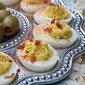 Bacon Horseradish Deviled Eggs