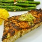 Grilled Swordfish With Orange Lime Pesto