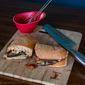 Eggplant Parm Pizzaburgers #meatlessmondays