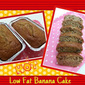 Low Fat Banana Cake