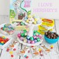 Lemon Cake with Hershey's Easter Candy Giveaway