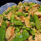Warm Chicken Pasta Salad with Spring Vegetables
