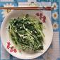 Stir-Fry Mizuna Japanese Mustard 清炒水菜