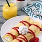 Lemon Raspberry Crepes-guest blogger