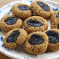 Quinoa-Coconut Thumbprint Cookies