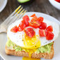 Avocado, Hummus, and Egg Toasts