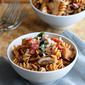 Mushroom, Bacon & Spinach Whole Wheat Pasta Recipe
