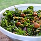 Kale Salad with Glazed Onions and Cheddar
