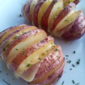 Gouda-Stuffed Hasselback Potatoes