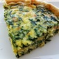 Spinach & Bacon Quiche