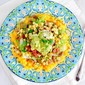 Corn Ceviche & Veggie Burrito Bowl