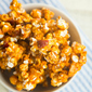 Bacon and Cashew Bourbon Caramel Corn