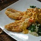 Pan-Fried Trout with Crawfish au Gratin