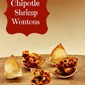 Chipotle Shrimp Wontons