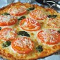 Gluten Free Pizza with Tomatoes & Basil