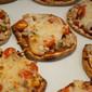 Chicken and Parmesan Flatbread Pizzas