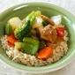 Oriental Vegetable and Rice Bowl