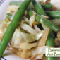 Spectacular Sides: Garlic Green Beans & Cabbage