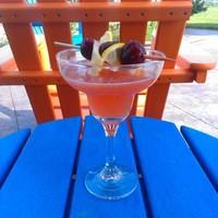 Cherry Lemon Vanilla Margaritas