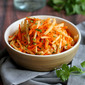 Jicama & Carrot Slaw Recipe with Honey-Lime Dressing