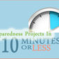 Frozen Water: 10 Minute Preparedness Project