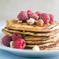 Raspberry Oatmeal Pancakes #Brunchweek