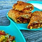 Puff Pastry Breakfast Chimichanga Rolls for #EBeggs #yourbestrecipe Contest + a Prize Pack Giveaway