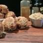 Cinnamon Chip Banana Crumb Mini Muffins