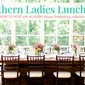 How To Host A Southern Ladies Lunch With #AladdinMason