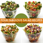 Four Fabulous Summer Salad Recipes!
