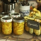 Crookneck Squash Pickles • 2 pounds Yellow Crookneck Squash • 2...