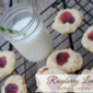 Raspberry Lemon Butter Cookies