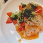 Pan-Seared Salmon with Sweet-and-Sour Orange Sauce