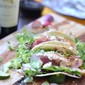 Seared Ahi Tuna Tacos with DaVinci Chianti