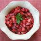 Strawberries with Sweet Tea Dressing