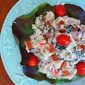 Red, White, & Blue Potato Salad
