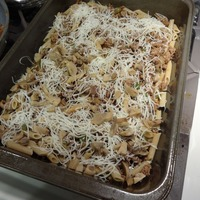 Baked Mostaccioli And Beef