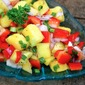 Mango and Red Pepper Salsa