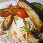 Marinated Bangus in Angel Hair Pasta