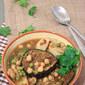 Chickpea and Eggplant Daube: A Mauritian Stew, Vegan Gluten-Free.