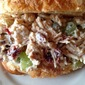 Chicken Salad on Crossiants