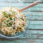 Linguini with Tuna, Capers, and Golden Raisins