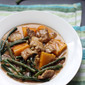 Ginataang Sitaw at Kalabasa (Squash and String Beans in Coconut Cream Sauce)