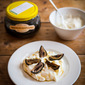 Greek Yogurt with Preserved Walnuts and Syrup