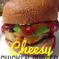 Three-Ingredient Cheesy Chicken Ranch Burgers