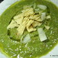 purely Asparagus soup potage with...