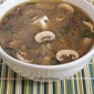 Three-Mushroom and Tofu Miso Soup Recipe